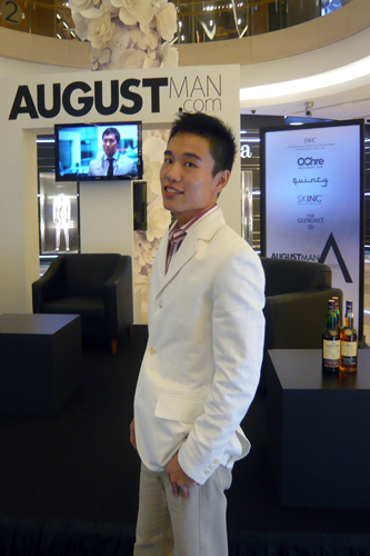 August Man A-listers Competition Roadshow – Support Lionel Lim