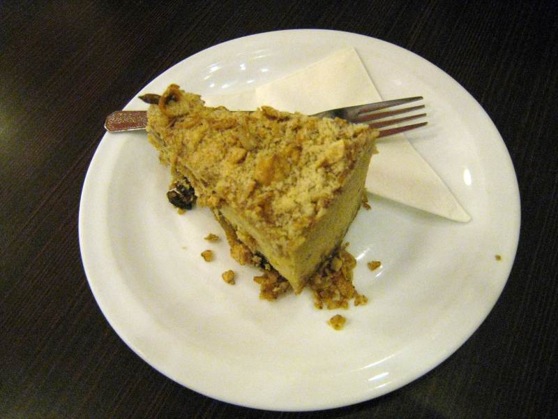 My Healthy Dessert Snack: High Fibre Cheese Cake