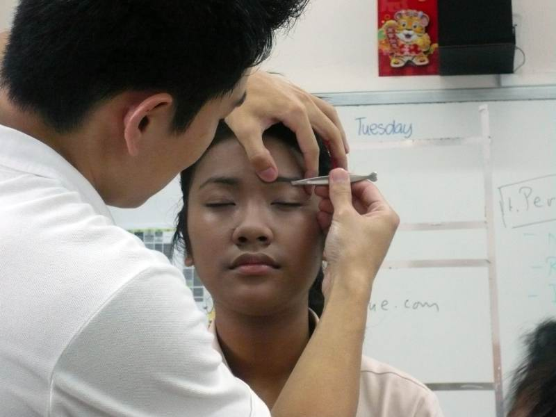 Makeup Workshop For East Spring Secondary School