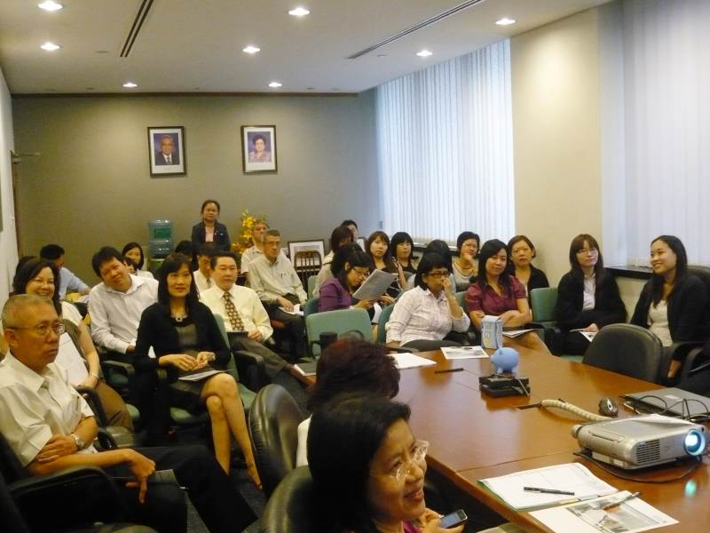 Corporate Lunchtime Grooming Talk: Sembcorp Parks Management