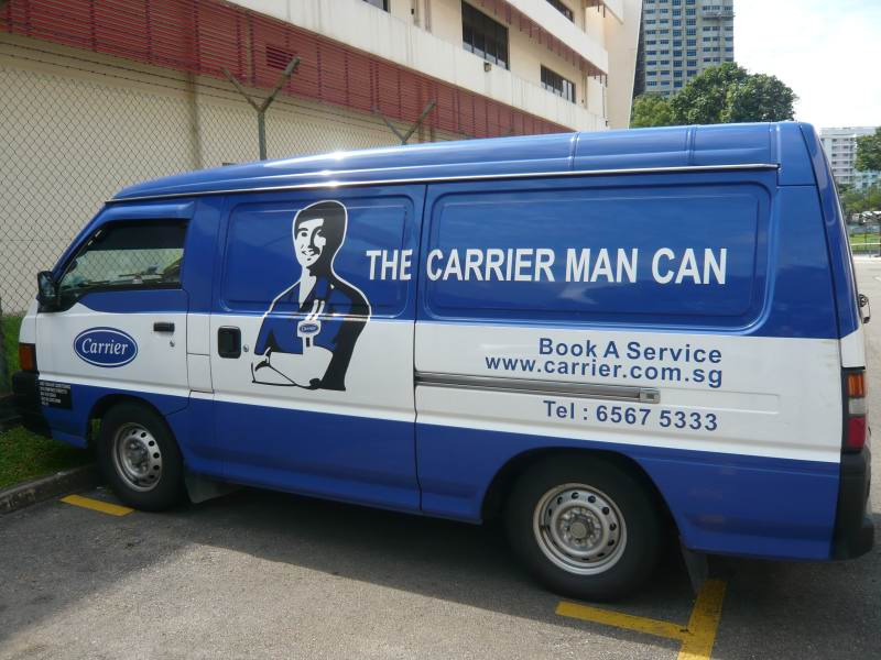 Corporate Lunchtime Grooming Talk: Carrier Singapore