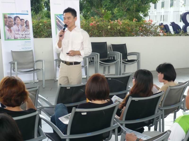 Corporate Lunchtime Effective Presentation Skills Talk: Marina Bay Golf Course