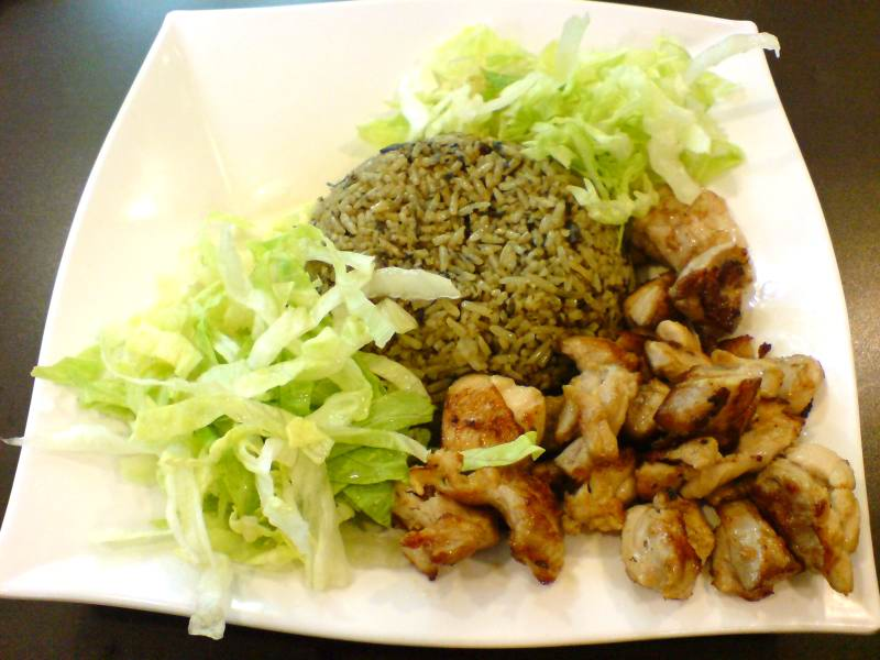 My Healthy Meal: Olive Rice Chicken