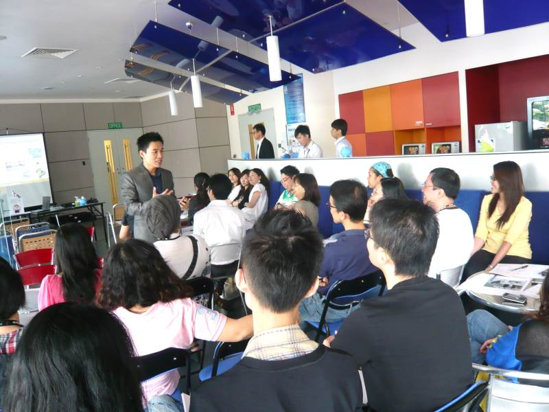 Corporate Lunchtime Grooming Talk: Lenovo Singapore