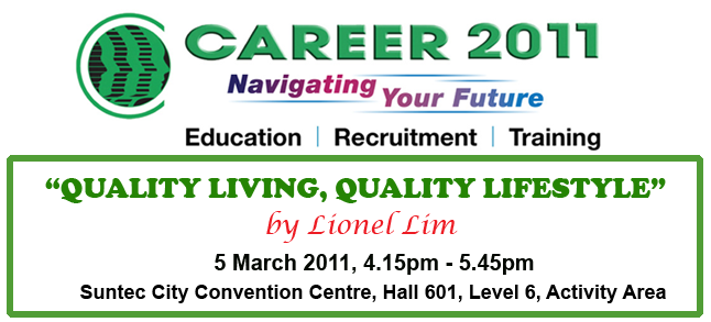 Career 2011 Singapore: Health And Fitness Talk