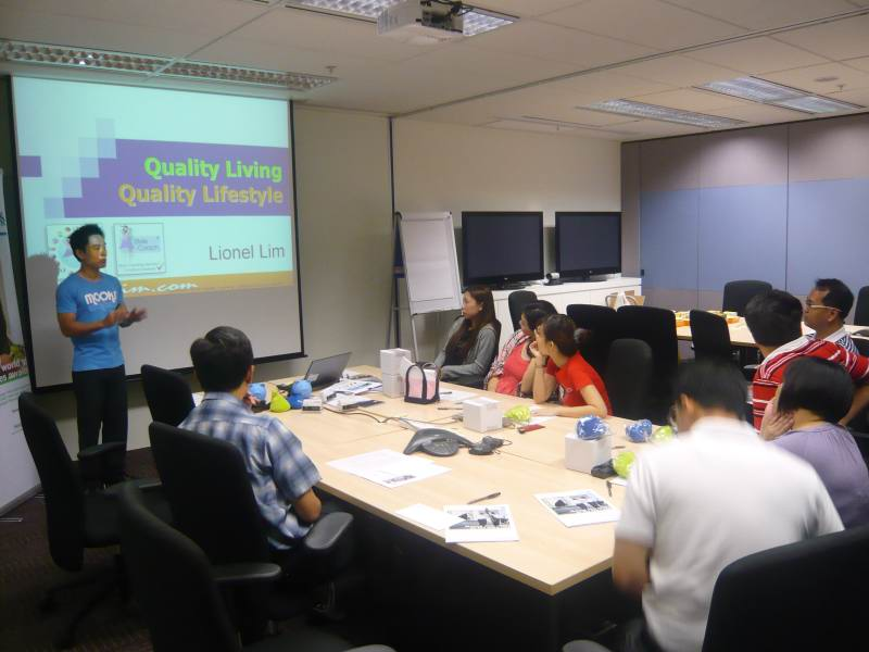 Health And Fitness Talk For Lexmark International Singapore