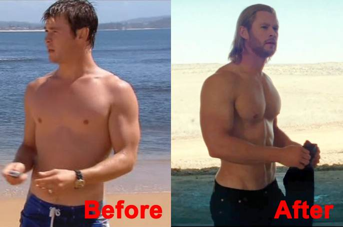 Fitness Training Tips From Action Superhero Thor