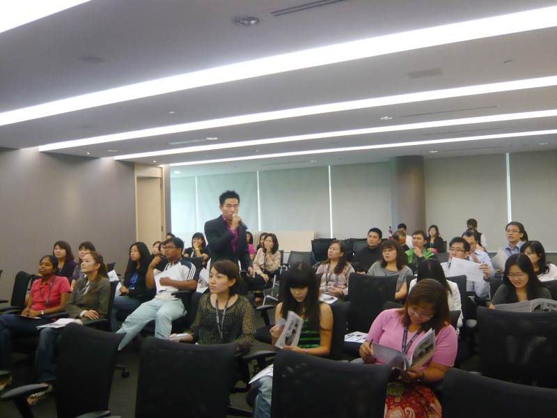 Corporate Grooming Talk For Hitachi Asia