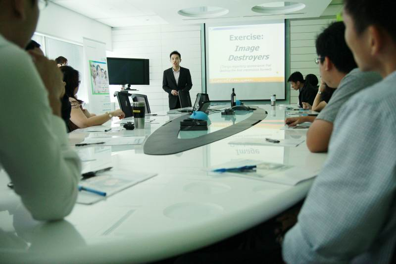 Corporate Grooming Talk For NAVTEQ Singapore