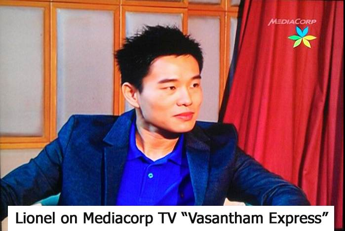 Appearing On Mediacorp TV Vasantham Express