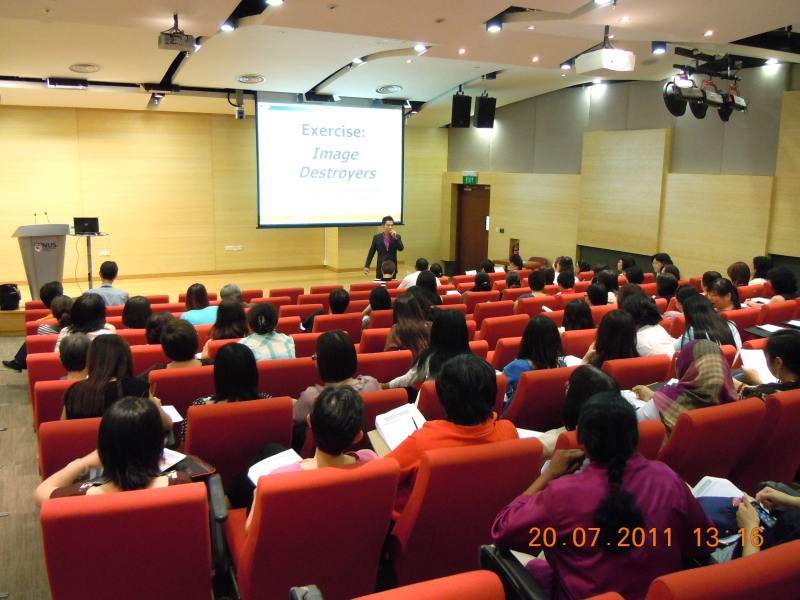 Grooming Talk For National University Of Singapore (NUS) Staff