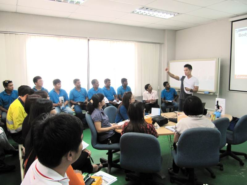 Health And Fitness Talks At AusGroup