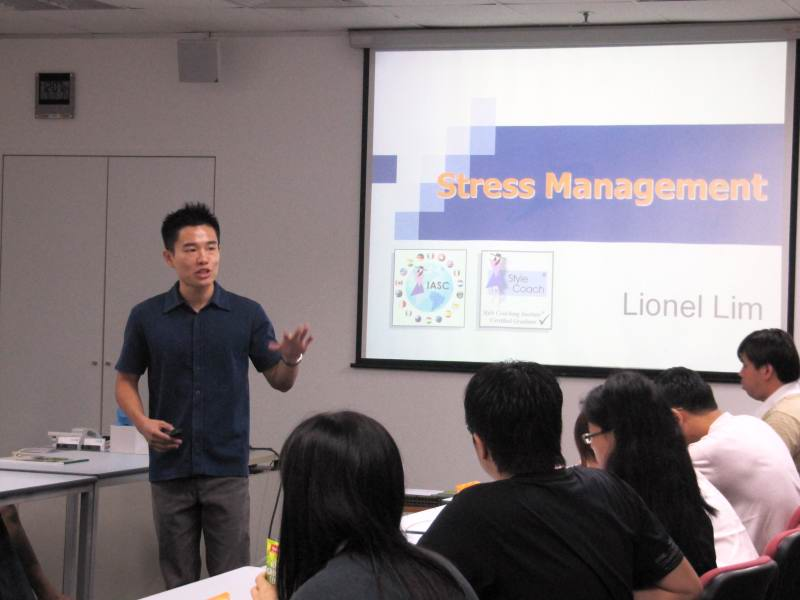 Stress Management Talk For STelcomms