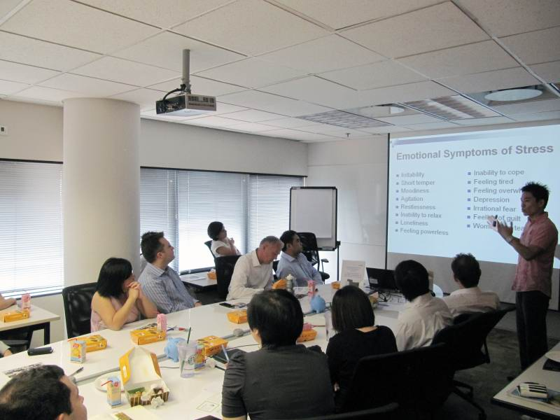 Stress Management Talk For Avanade Singapore