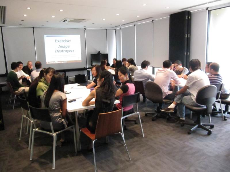 Grooming And NLP Workshop At MKPL Architects