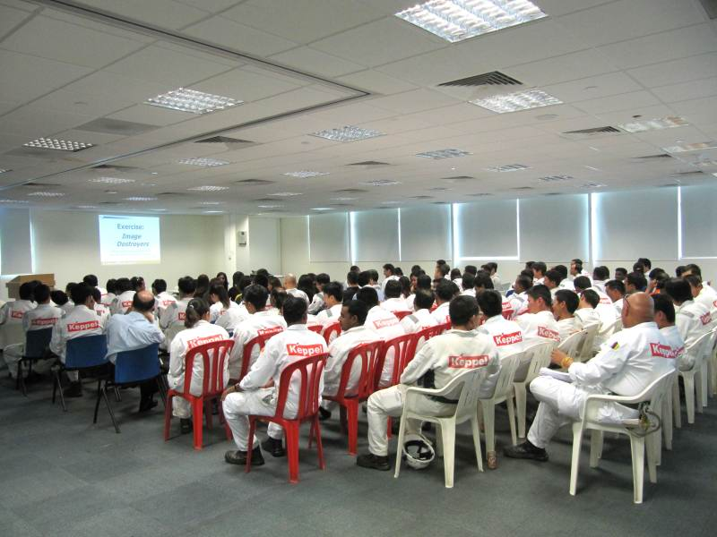 Corporate Grooming Talks For Keppel FELS