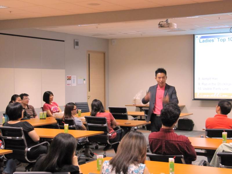 Grooming Talk At Toyota Motor Asia Pacific