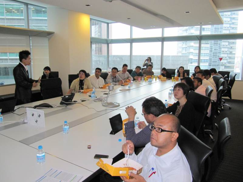 Corporate Grooming Talk For Getronics Singapore