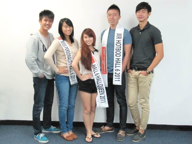 NTU Hall 6 Dinner And Dance Cum Pageant 2011 Winners Grooming Workshop