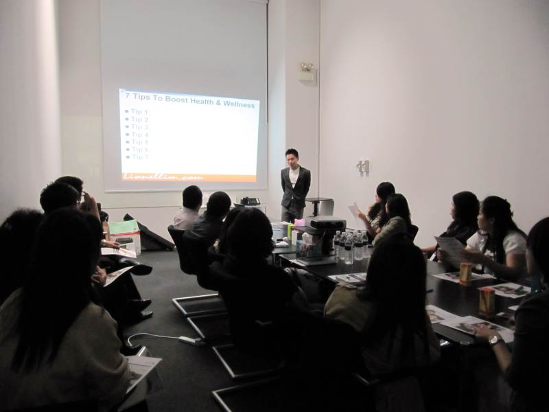 Health And Wellness Talk For KHL Marketing Asia Pacific