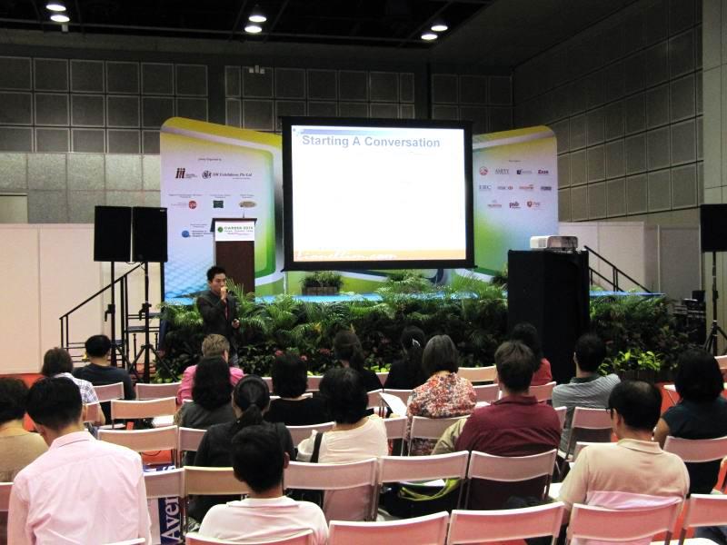 Career 2012 Singapore: The Art Of Conversation Talk