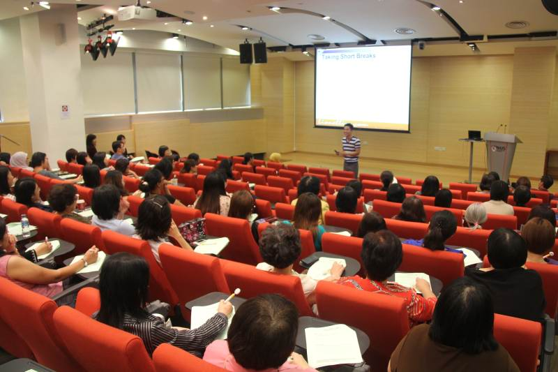 Health And Wellness Talk For NUS (National University Of Singapore) Staff