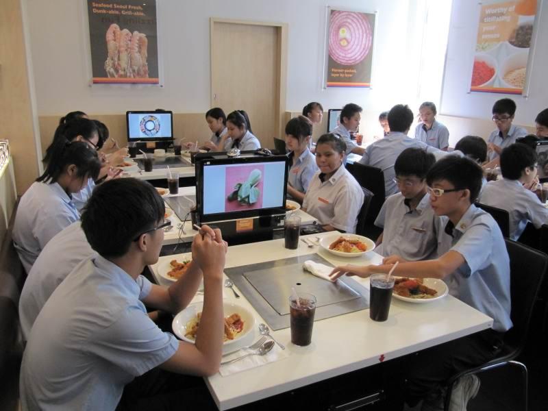 Dining Etiquette Skills Training For North Vista Secondary School