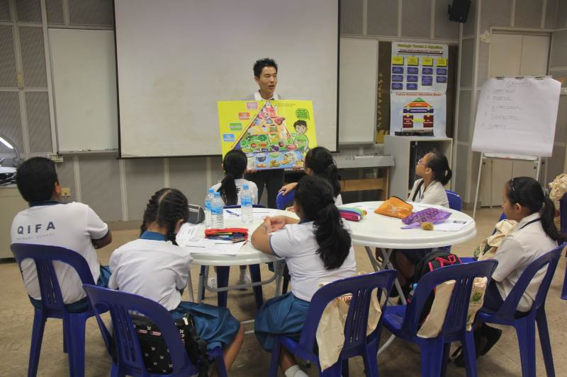Health Promotion Board Student Health Ambassador Programme For Primary Schools: Yuhua Primary School