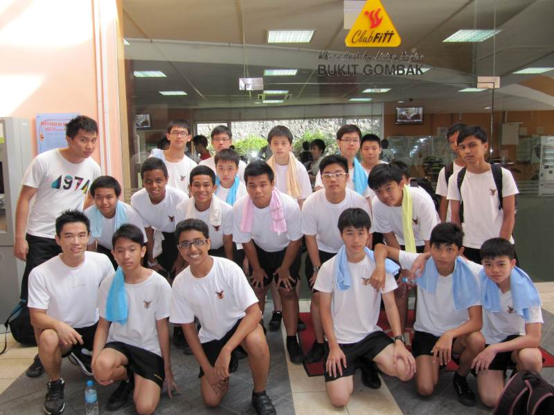 10 Week Health Fitness Training Programme For West Spring Secondary School