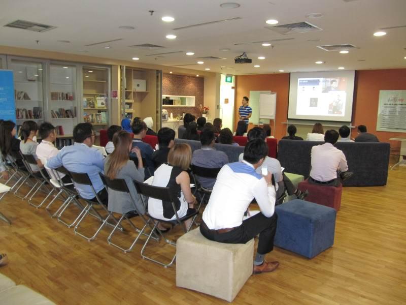 Corporate Wellness Training for NETS Singapore