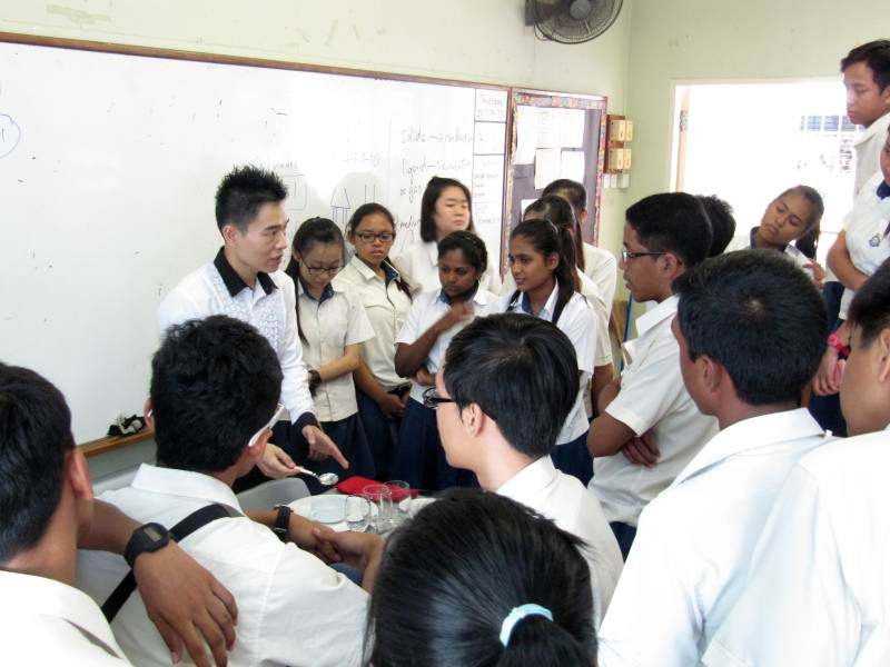 Social And Dining Etiquette Workshop Training For Sembawang Secondary School