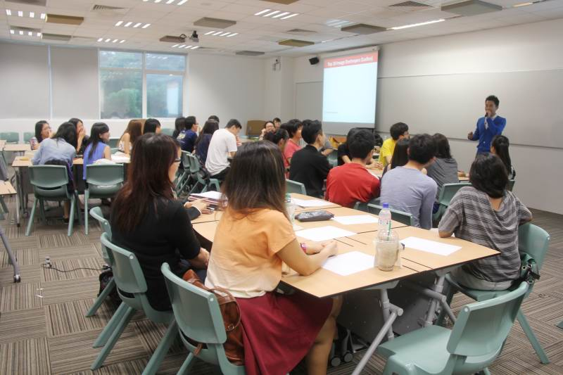 Grooming Talk For Singapore Polytechnic Students