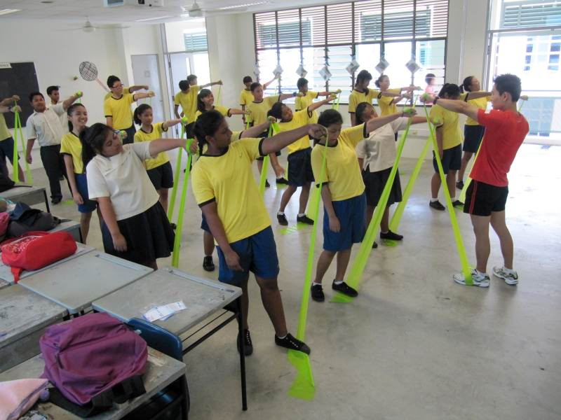 Health And Fitness Lifeskills Elective Module For Marsiling Secondary School
