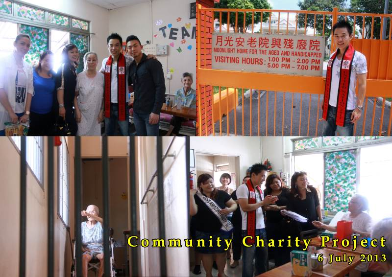 Community Charity Project 2013 – Visit to Moonlight Home for the Aged & Handicapped