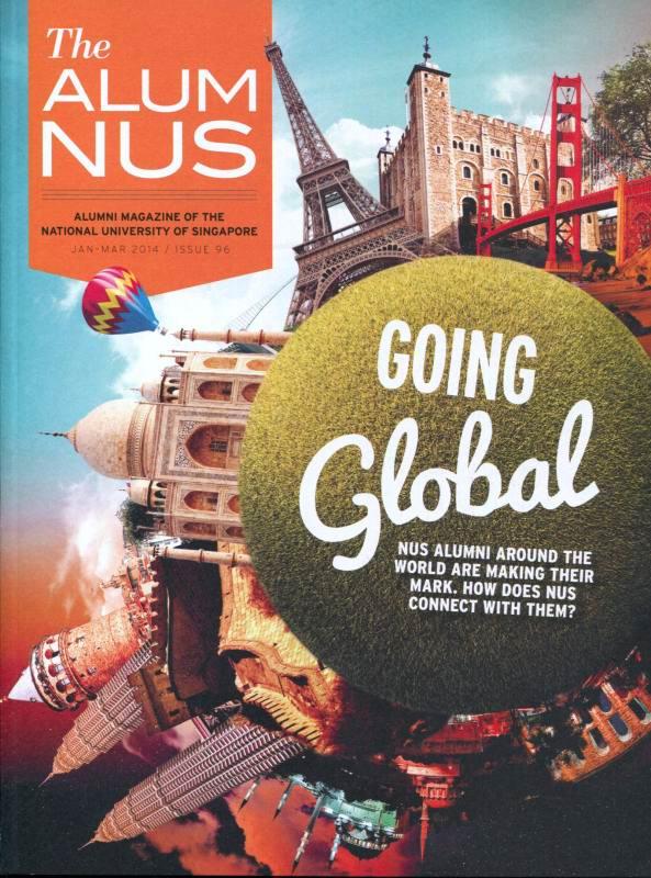 NUS Alumni Awards 2013 Article In AlumNUS Magazine