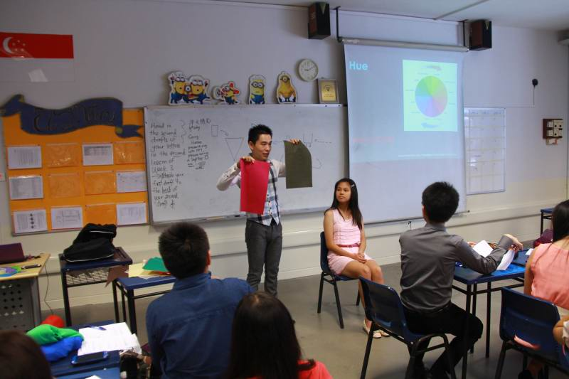 Grooming And Dining Etiquette Workshop For Nan Hua High School