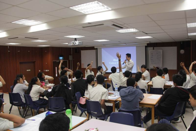 Grooming and Interview Skills Workshop For Sembawang Secondary School