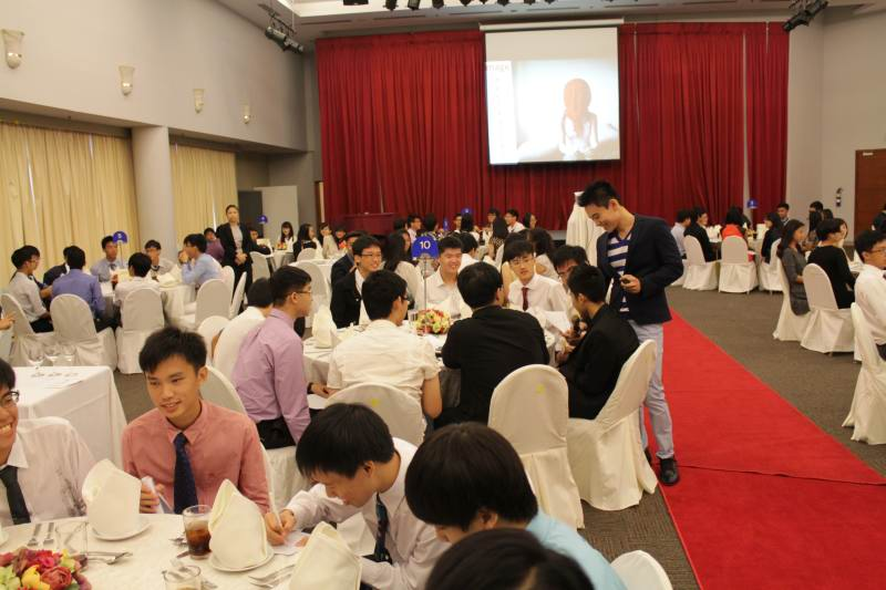 Dining Etiquette Workshop For NUS High School of Mathematics and Science
