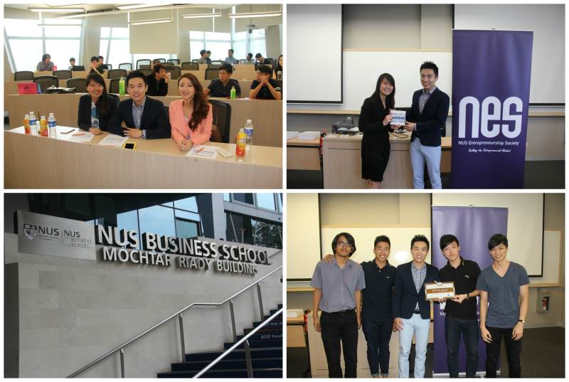 NUS Entrepreneurship Bootcamp Pitching Competition Judge