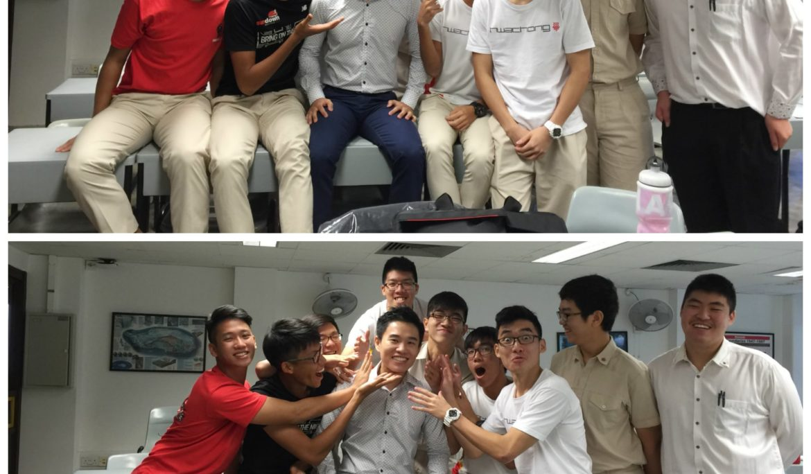 Mens Grooming Workshop for Hwa Chong Institution: 3 Tips To Become A Stylish Guy