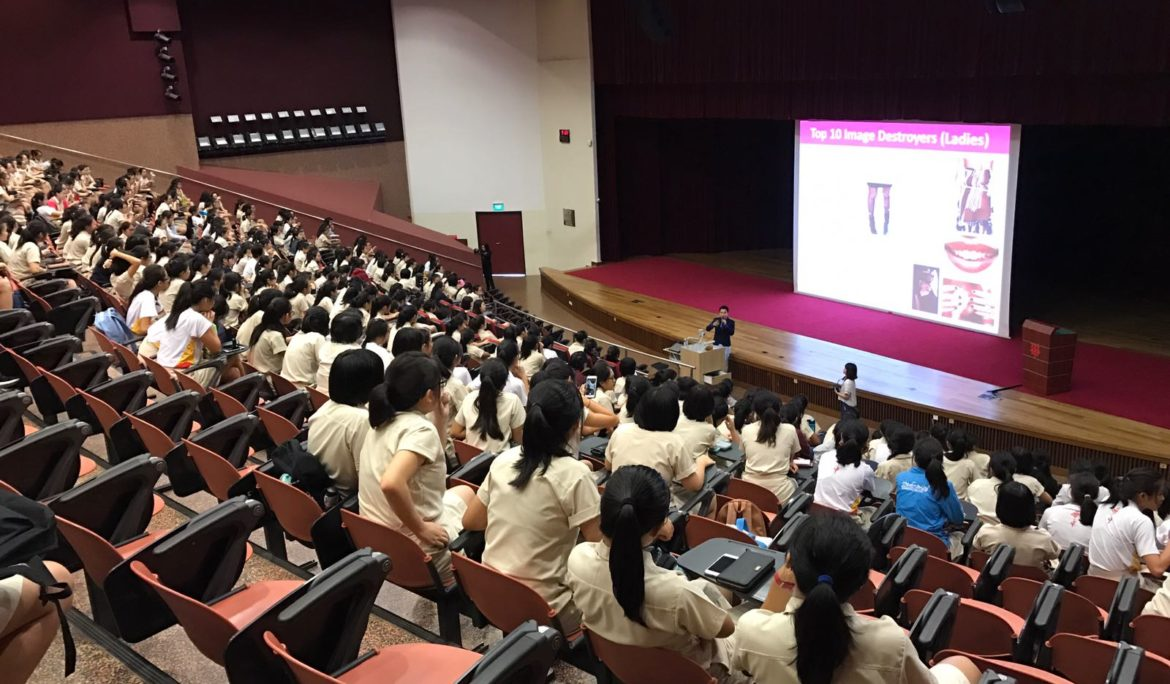 3 Tips To Enhance Your Personal Image: Personal Grooming Talks For Hwa Chong Institution