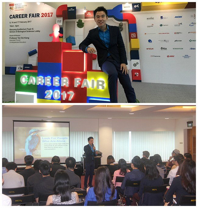 3 Tips To Business Networking For NTU Career Fair 2017