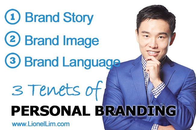The 3 Tenets of Personal Branding