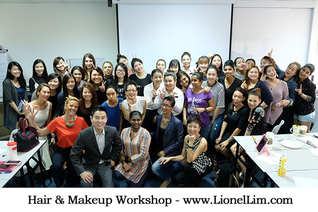 Hair And Makeup Workshop For Ce La Vi